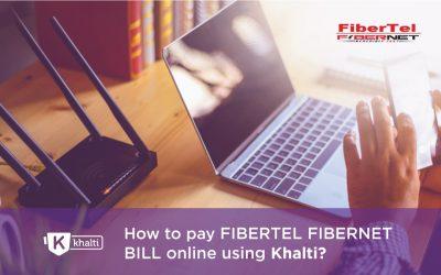 How to pay Fibertel fibernet Bill online using Khalti?