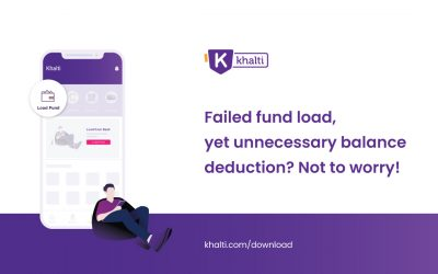 Failed fund load, yet unnecessary balance deduction? Not to worry!