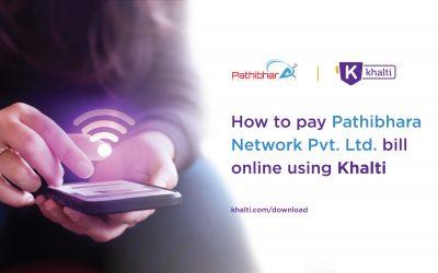 How to pay Pathibhara Network's Bill online using Khalti?