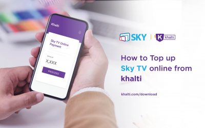How to pay Sky TV bill Online using Khalti?