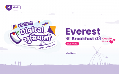 Khalti को Digital खुसियाली: Everest ma Breakfast
