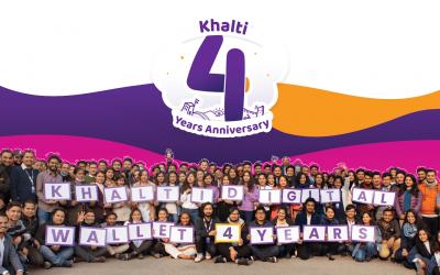 Khalti 4th Anniversary Campaign: Win Smartphone, Smartwatch, TV and Internet subscription