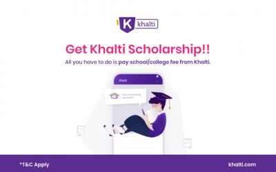 School/College Fee भुक्तानी Khalti बाट गर्दा Scholarship