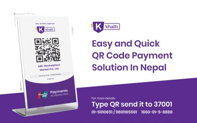 Now Make & Receive Payments In A Jiffy With Khalti QR Code Merchant Payment