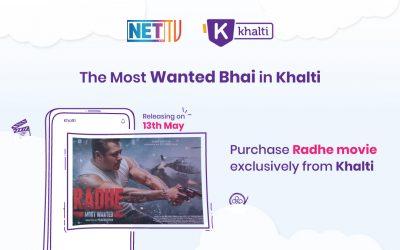Buy Radhe Movie from Khalti