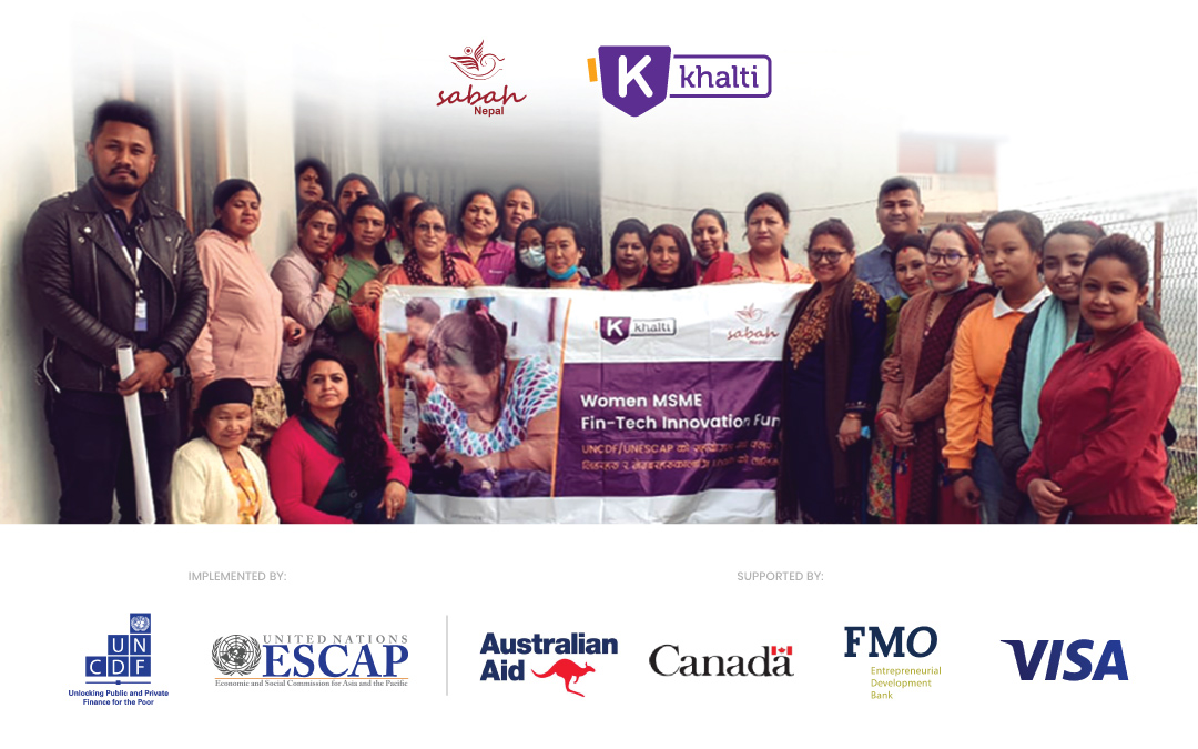 Women MSME Fintech Innovation Fund:  Khalti's little contribution towards digitizing Women-led Businesses