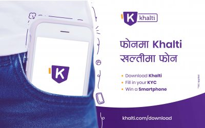 Download Khalti and Win a Smartphone