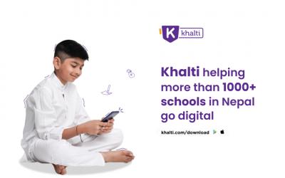 Khalti helping more than 1000+ schools in Nepal go digital