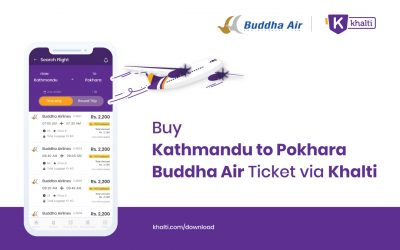 Buy Kathmandu to Pokhara Buddha Air Tickets In Nepal