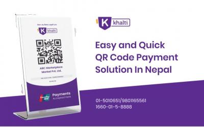 Scan Khalti QR & Pay
