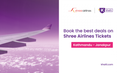 Grab the best deals of Shree Airlines Flights Tickets from Kathmandu to Janakpur